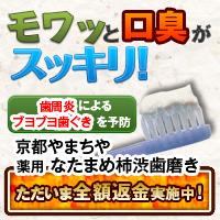 薬用なたまめ柿渋歯磨き