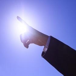 光の指す方へ