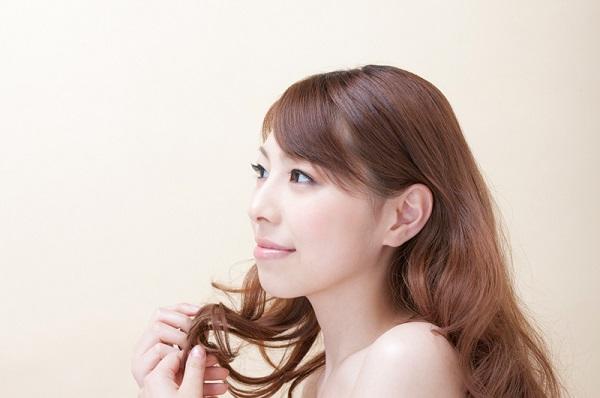 女性のキレイな髪の毛